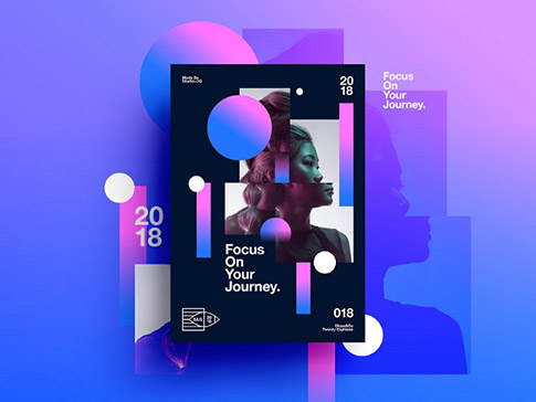 Gradient Posters by Studio–JQ