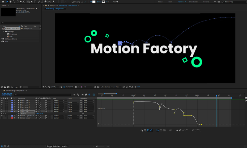 Keyframe Interpolation In After Effects