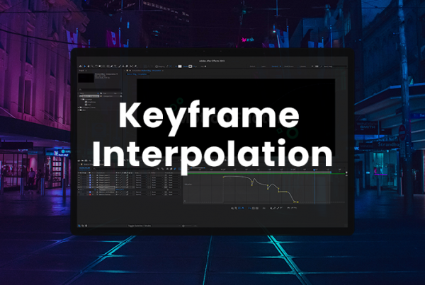 Using Keyframe Interpolation And Easing In After Effects