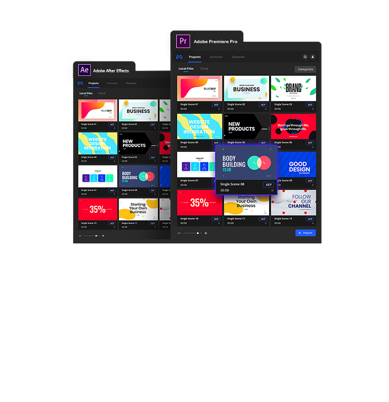 Infinity Tool Pack - Made for both Adobe After Effects and Premiere Pro