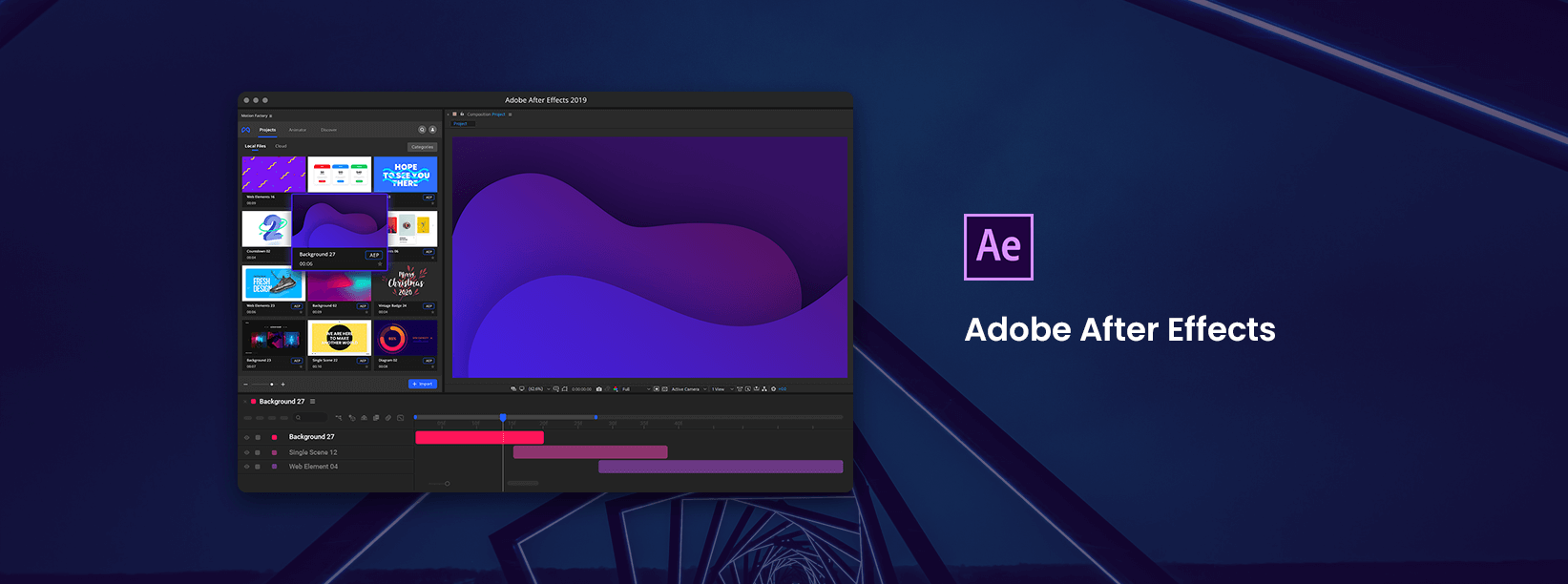 Infinity Tool - The Biggest Pack for Adobe After Effects