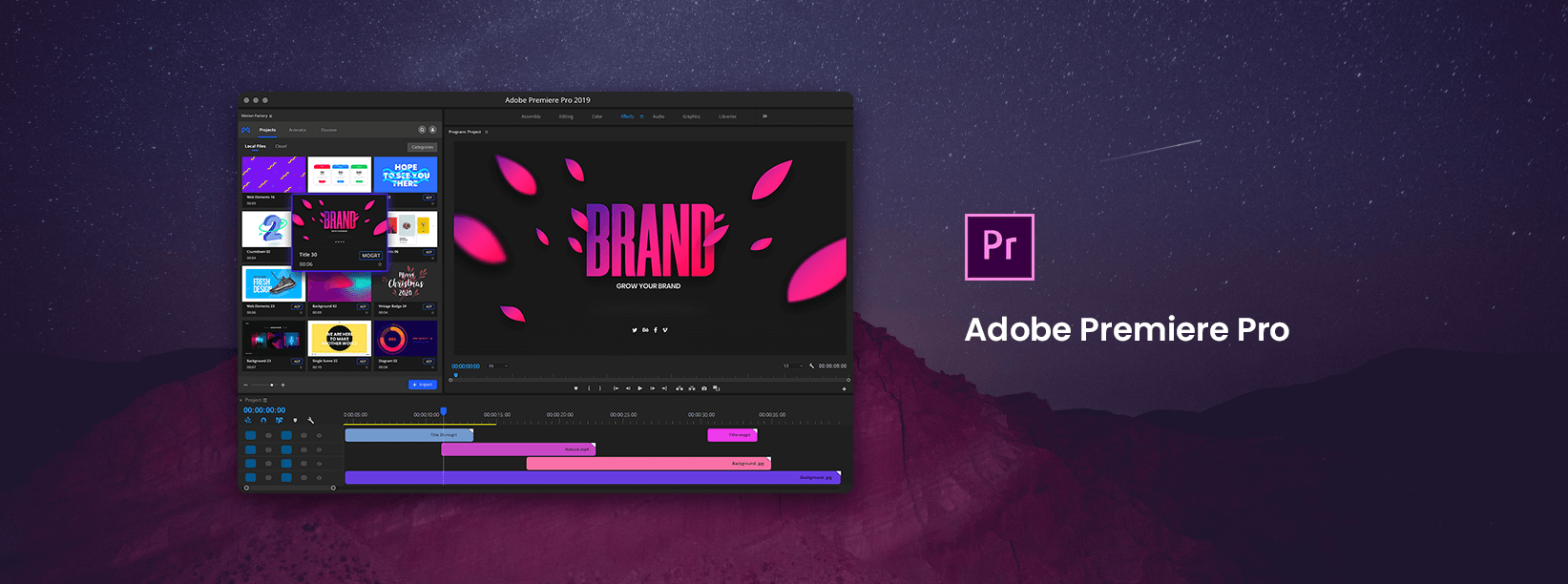 Infinity Tool - The Biggest Pack for Adobe Premiere Pro