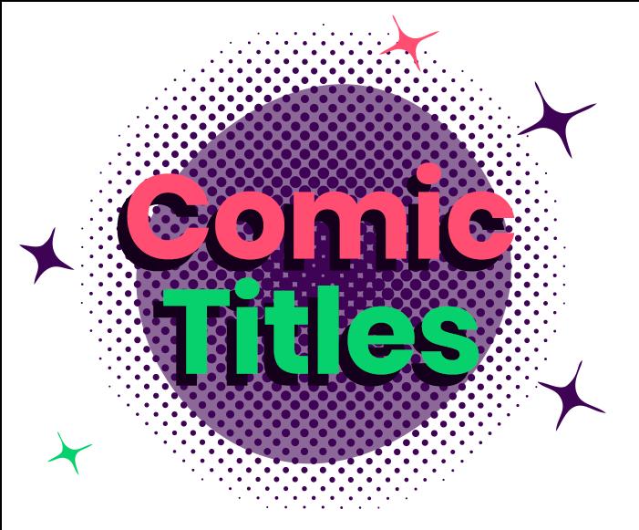 Comic Titles