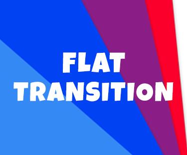 Flat Transition