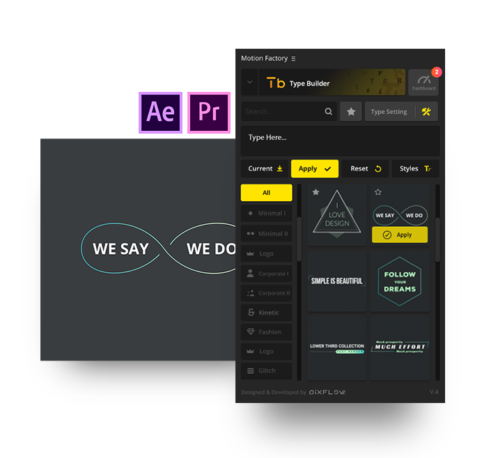 after effects clean lower thirds