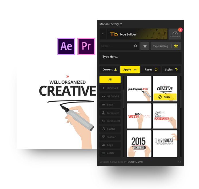 after effects hand explainer kit