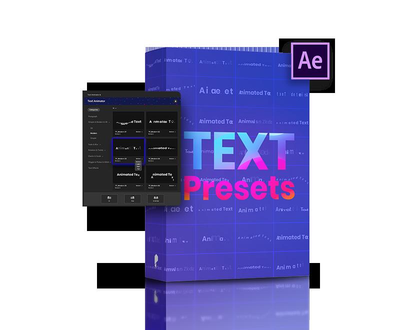 kinetic typography template