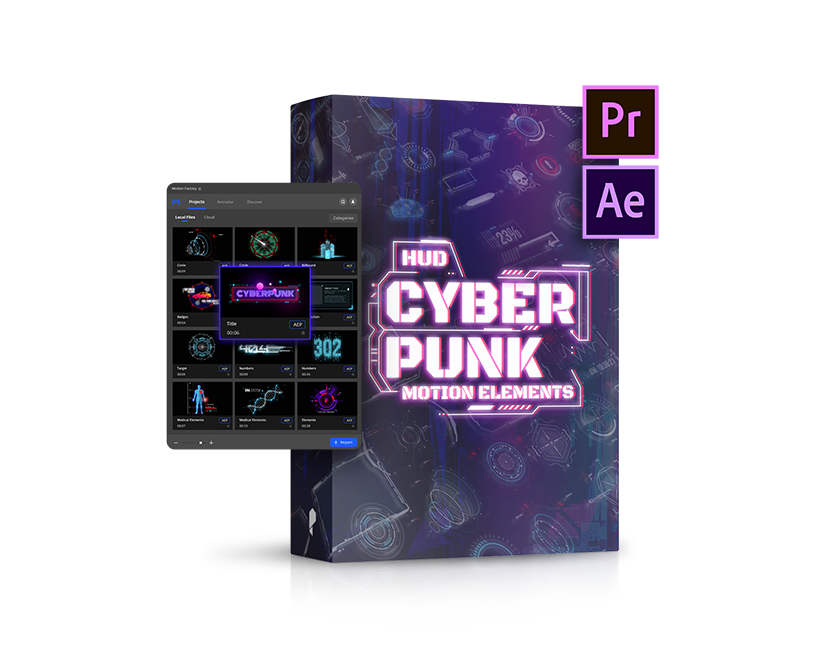 cyber motion element pack