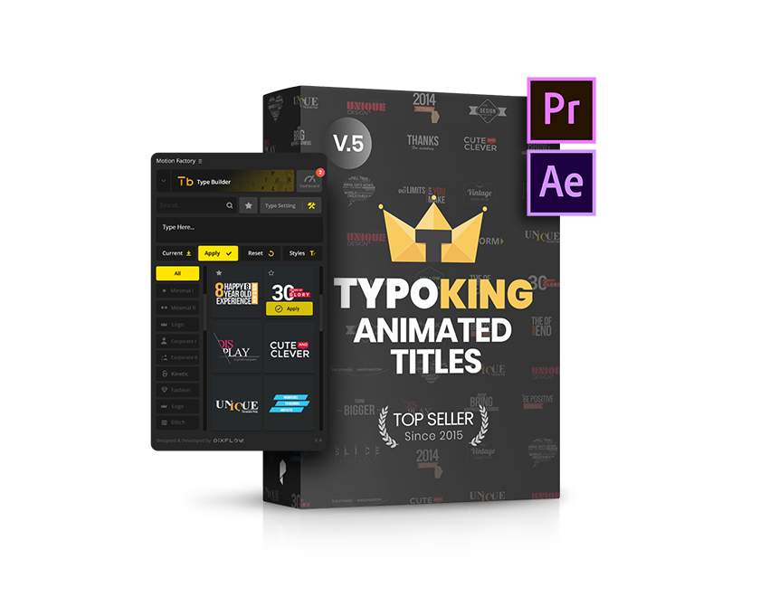 title-after-effects-typoking