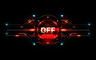Cyberpunk Hud overlays