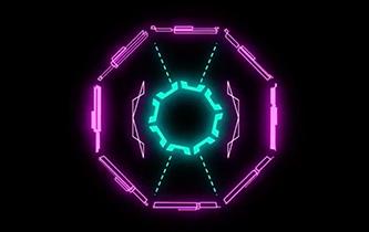 Cyberpunk Hud Polygons