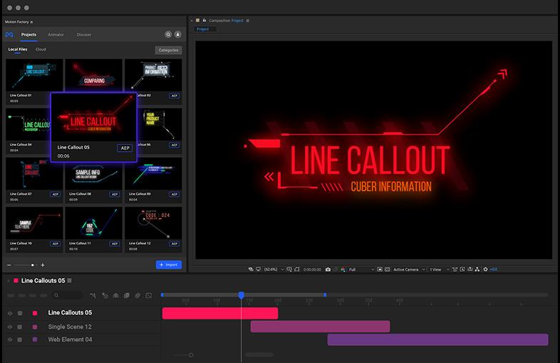Cyberpunk Hud line callouts