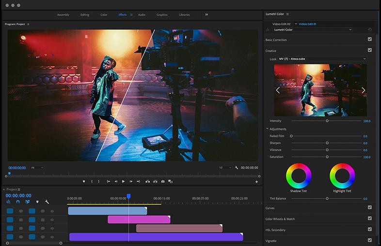 Music Video Luts Color Presets