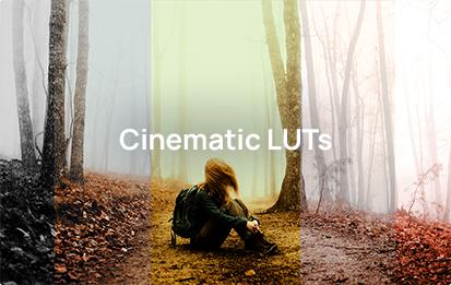 Colorify Cinematic LUTs