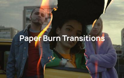 Paper burn transitions