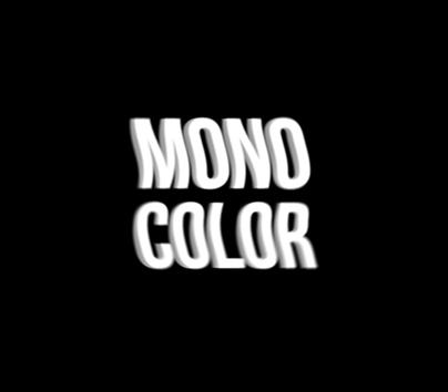 mono color