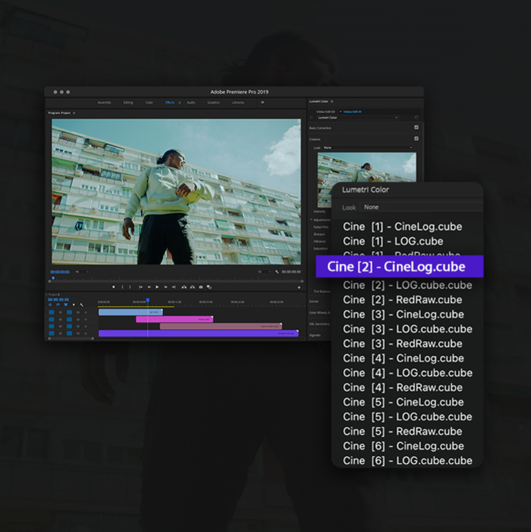 Film Looks LUTs Color Presets Pack